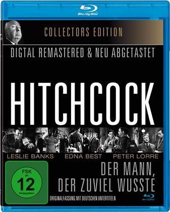 Der Mann, der zuviel wusste (1934) (s/w, Collector's Edition, Remastered)