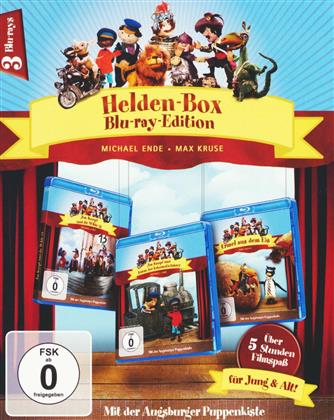 Augsburger Puppenkiste - Helden-Box (3 Blu-rays)