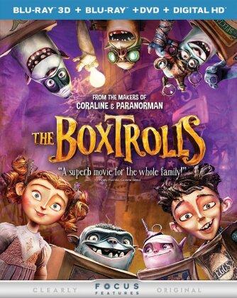 Boxtrolls - Boxtrolls (2PC) (W/DVD) (2014) (Blu-ray 3D (+2D) + Blu-ray + DVD)