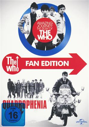 The Who - Fan Edition - Amazing Journey: The Story of The Who / Quadrophenia (Limited Fan Edtion 3 DVDs)