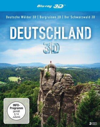 Deutschland - Deutsche Wälder / Burgruinen / Der Schwarzwald (3 Blu-ray 3D (+2D))