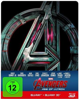 Avengers 2 - Age of Ultron (2015) (Steelbook, Blu-ray 3D + Blu-ray)