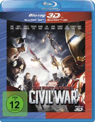 Captain America 3 - The First Avenger - Civil War (2016) (Blu-ray 3D + Blu-ray)