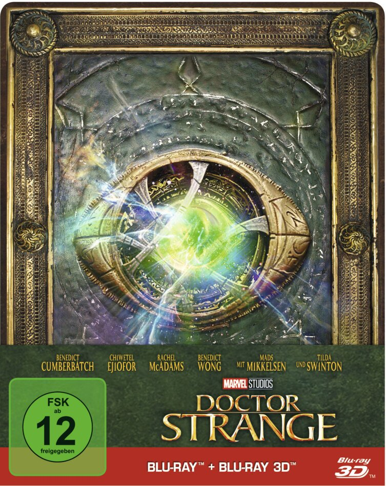 Doctor Strange (2016) (Limited Edition, Steelbook, Blu-ray 3D + Blu-ray)