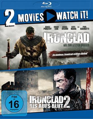 Ironclad (2011) / Ironclad 2 (2014) (2 Blu-rays)