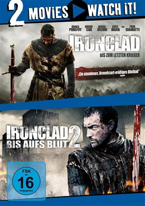Ironclad (2011) / Ironclad 2 (2014) (2 DVDs)