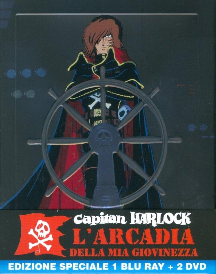Capitan Harlock - L'Arcadia della mia giovinezza (Steelbook Blu-ray + 2 DVD)