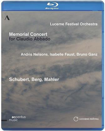 Lucerne Festival Orchestra, Andris Nelsons, … - Memorial Concert for Claudio Abbado (Accentus Music)