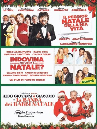 Il peggior natale della mia vita / Indovina chi viene a Natale? / La banda dei Babbi Natale (3 DVDs)