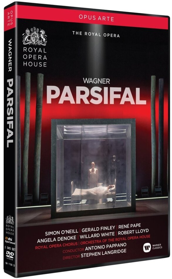 Orchestra of the Royal Opera House, Antonio Pappano, … - Wagner - Parsifal (Opus Arte, 2 DVDs)