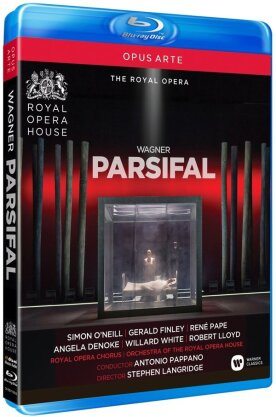 Orchestra of the Royal Opera House, Antonio Pappano, … - Wagner - Parsifal (Opus Arte, 2 Blu-rays)