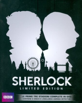 Sherlock - Stagioni 1-3 (BBC, Limited Edition, 6 DVDs)
