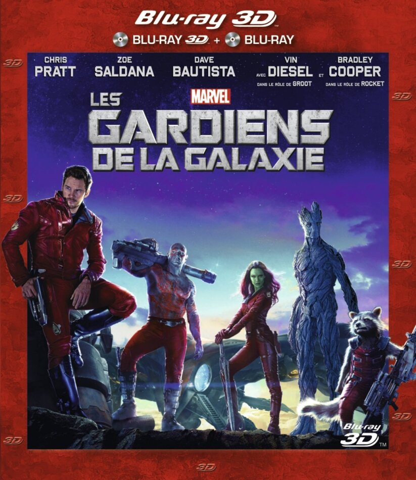 Les Gardiens de la Galaxie (2014) (Blu-ray 3D + Blu-ray)