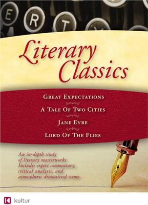 Literary Classics - Great Expectations / A Tale of Two Cities / Jane Eyre / Lord of the Flies