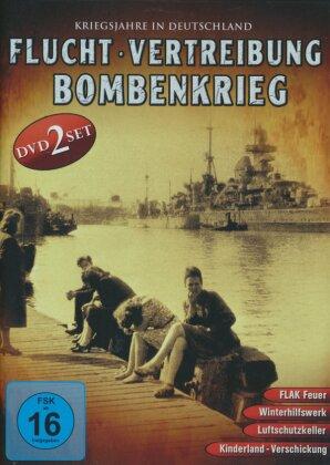 Flucht, Vertreibung, Bombenkrieg - Kriegsjahre in Deutschland (2 DVDs)