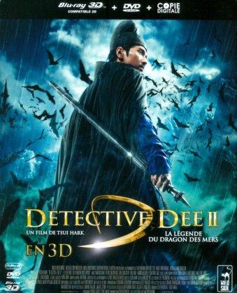 Detective Dee 2 - La légende du dragon des mers (2013) (Blu-ray 3D (+2D) + DVD)
