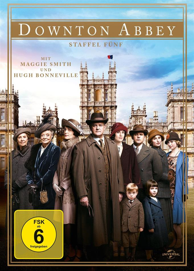 Downton Abbey - Staffel 5 (4 DVDs)