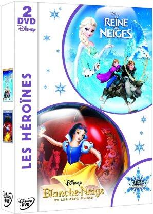 Les Héroïnes - La Reine des Neiges / Blanche Neige et les sept nains (2 DVDs)