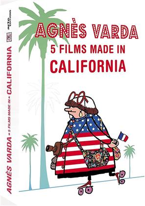 Agnès Varda - 5 films made in California (Arte Éditions, Remastered, 2 DVDs)