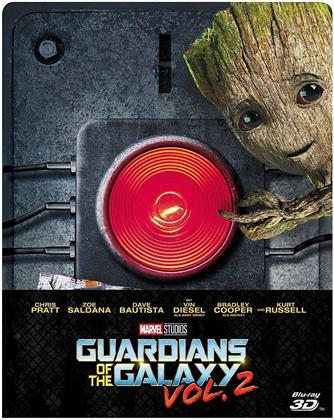 Guardians of the Galaxy - Vol. 2 (2017) (Edizione Limitata, Steelbook, Blu-ray 3D + Blu-ray)