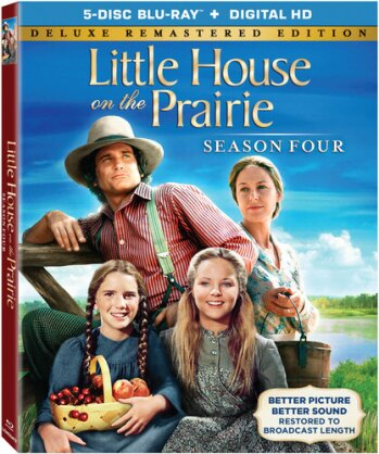 Little House on the Prairie - Season 4 (Deluxe Edition, Versione Rimasterizzata, 5 Blu-ray)