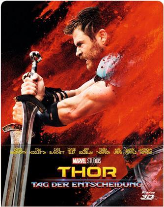 Thor 3 - Tag der Entscheidung (2017) (Limited Edition, Steelbook, Blu-ray 3D + Blu-ray)