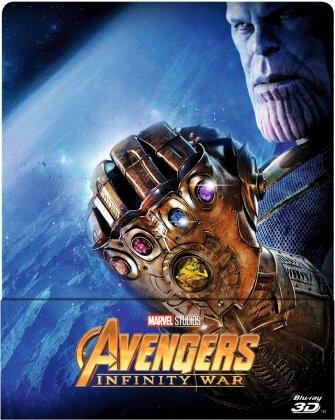 Avengers 3 - Infinity War (2018) (Limited Edition, Steelbook, Blu-ray 3D + Blu-ray)