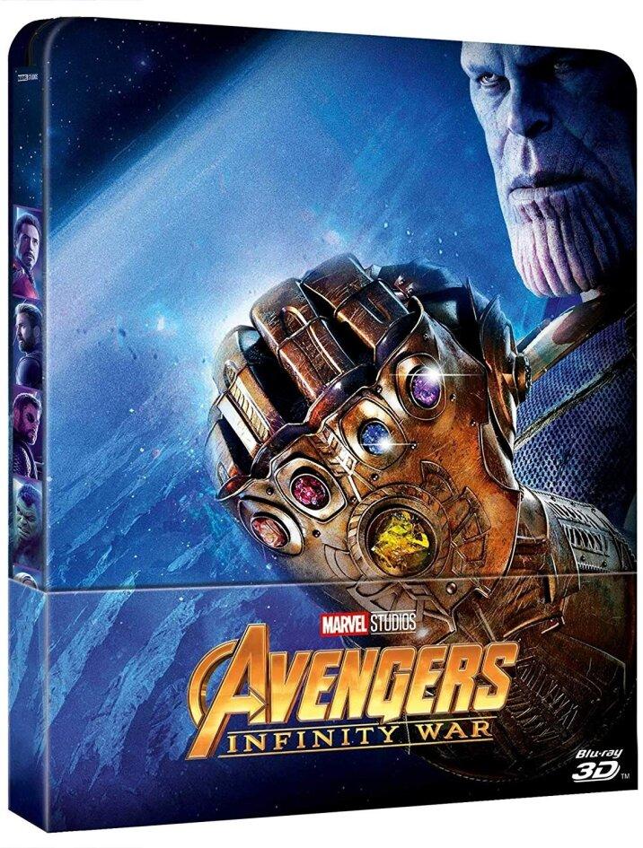 Avengers 3 - Infinity War (2018) (Edizione Limitata, Steelbook, Blu-ray 3D + Blu-ray)