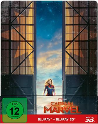 Captain Marvel (2019) (Edizione Limitata, Steelbook, Blu-ray 3D + Blu-ray)