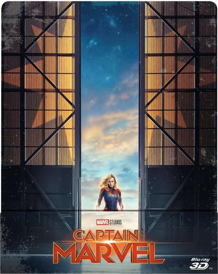 Captain Marvel (2019) (Edizione Limitata, Steelbook, Blu-ray 3D + Blu-ray)