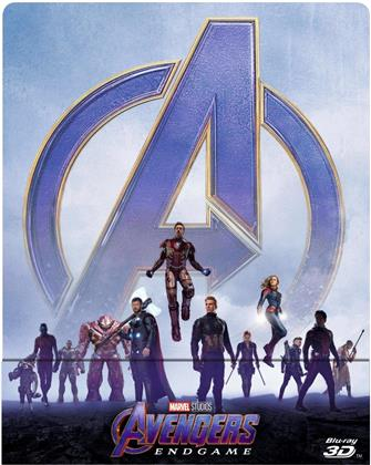 Avengers 4 - Endgame (2019) (Edizione Limitata, Steelbook, Blu-ray 3D + 2 Blu-ray)