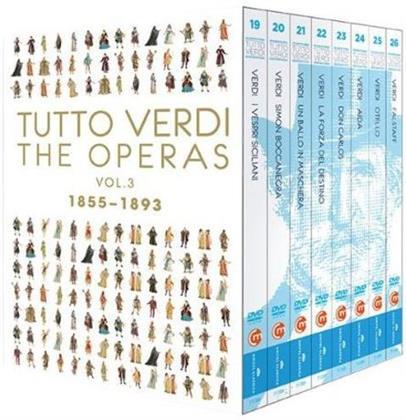 Various Artists - Tutto Verdi - Operas Box Vol. 3 (C Major, Tutto Verdi, Unitel Classica, 11 DVDs)