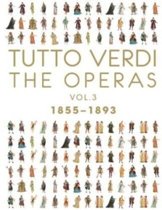 Various Artists - Tutto Verdi - Operas Box Vol. 3 (C Major, Unitel Classica, Tutto Verdi, 8 Blu-rays)