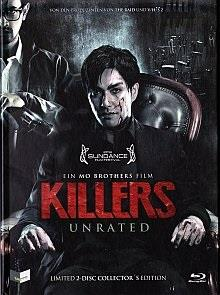 Killers (2014) (Cover A, Collector's Edition, Limited Edition, Mediabook, Unrated, Blu-ray + DVD)