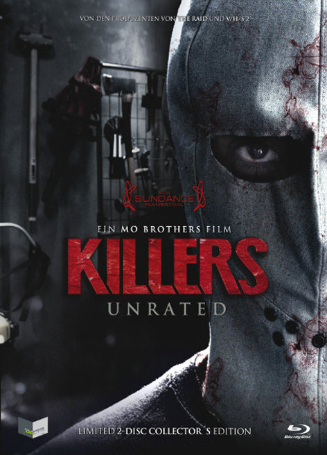 Killers (2014) (Cover B, Collector's Edition, Limited Edition, Mediabook, Unrated, Blu-ray + DVD)