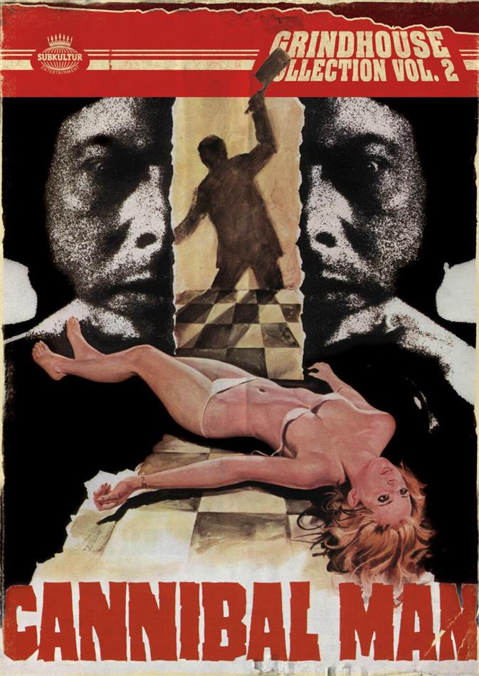 Cannibal man (1972) (Grindhouse Collection, Blu-ray + DVD)