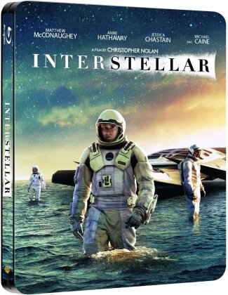 Interstellar (2014) (Steelbook, 2 Blu-rays)