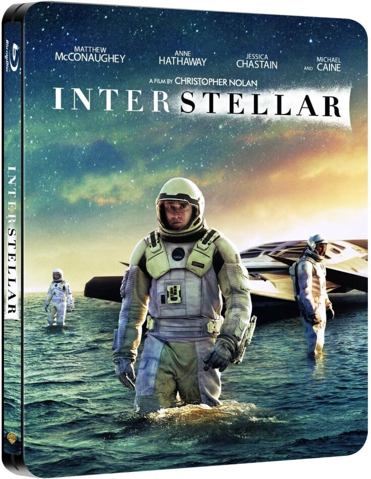 Interstellar (2014) (Steelbook, 2 Blu-rays)