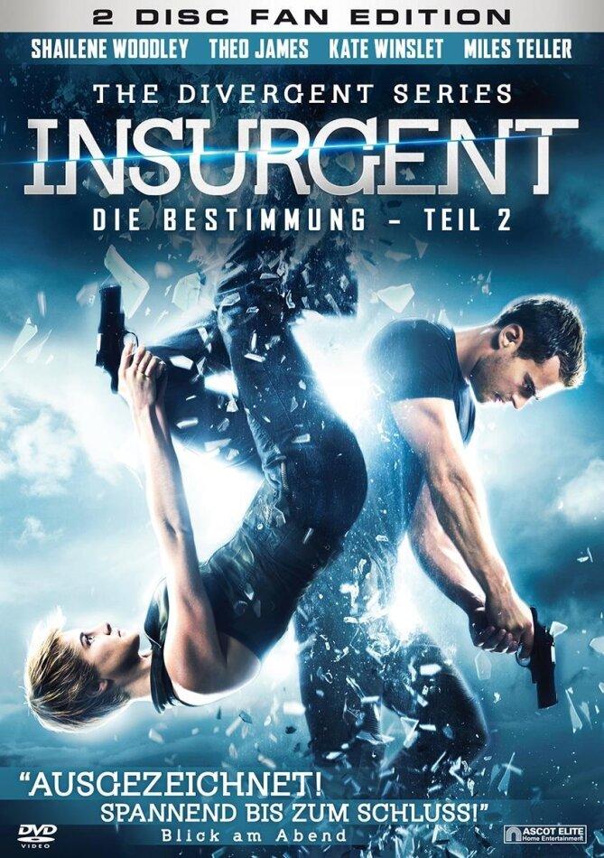 Insurgent - Die Bestimmung - Teil 2 (Fan Edition) (2014) (2 DVDs)