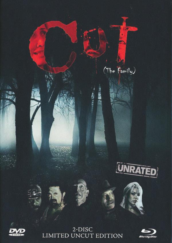 Cut - The Family (2011) (Cover B, Limited Edition, Mediabook, Unrated, Blu-ray + DVD)