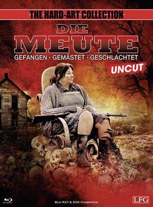 Die Meute (2010) (Cover A, Edizione Limitata, Uncut, Blu-ray + DVD)