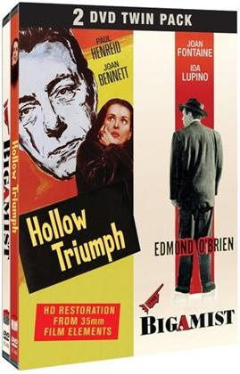 Hollow Triumph (1948) / The Bigamist (1953) (2 DVD)
