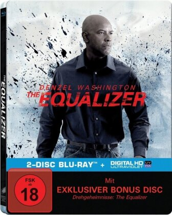 The Equalizer (2014) (Steelbook, 2 Blu-rays)