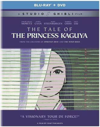 The Tale of the Princess Kaguya - Kaguyahime no monogatari (2013) (3 Blu-rays + DVD)