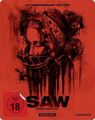 Saw (2004) (10th Anniversary Edition, Director's Cut, Steelbook)