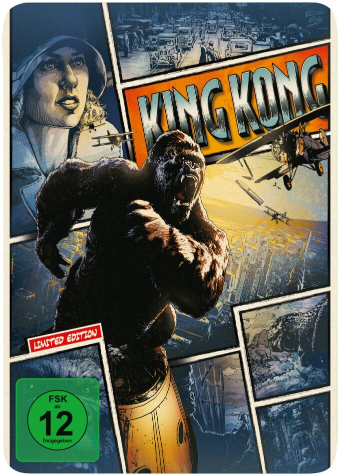 King Kong - (Limited Steelbook Edition - Extended Version) (2005)