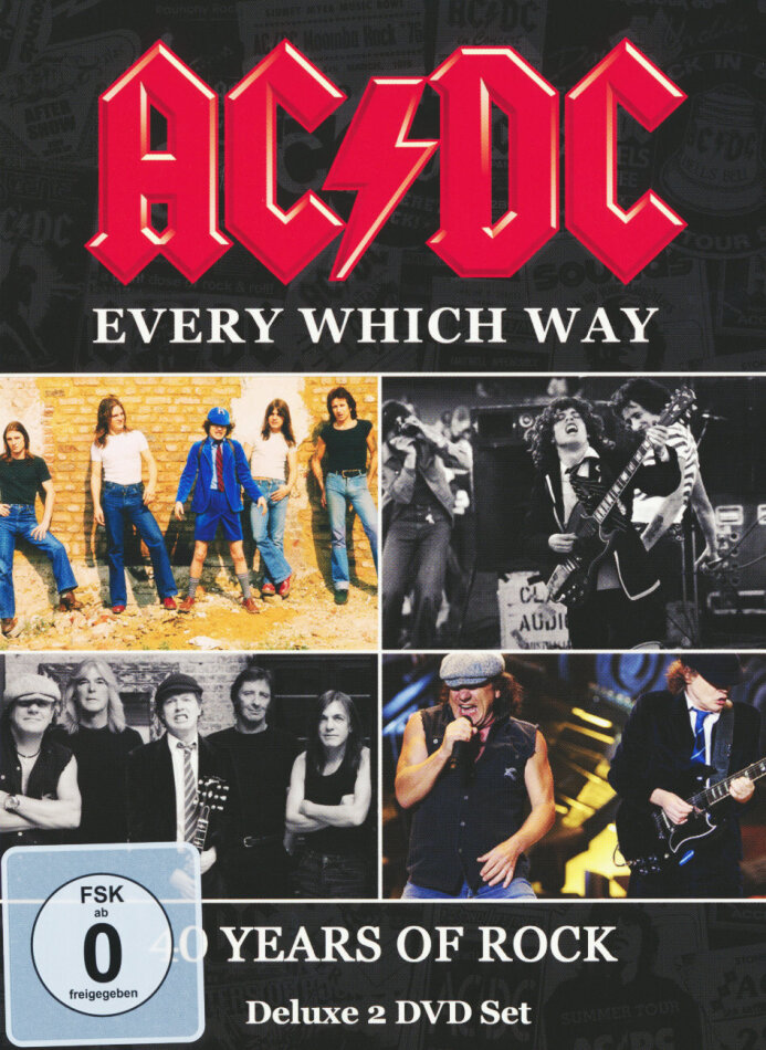AC/DC - Every Which Way - 40 Years of Rock (Inofficial, 2 DVDs)