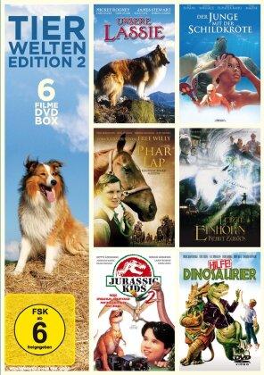 Tierwelten Edition 2 - (6 Filme DVD Box) (2 DVD)