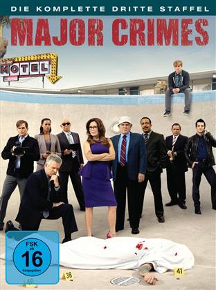 Major Crimes - Staffel 3 (4 DVDs)