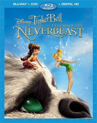 Tinker Bell and the Legend of the Neverbeast (2014) (Blu-ray + DVD)